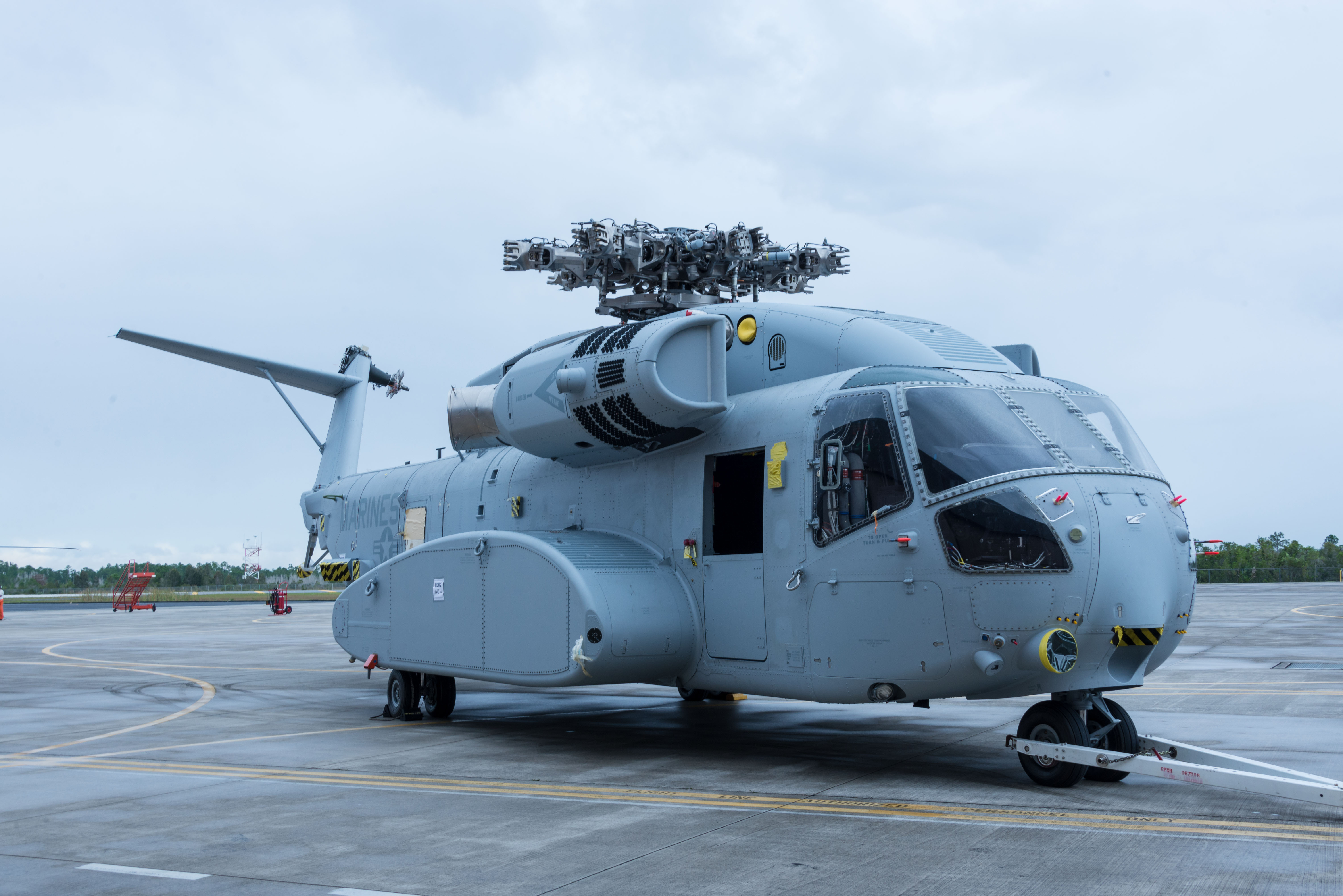 Marine Corps Prepares New CH-53K for First Flight   Grunt ...