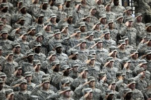 Military suicides up slightly in 2014