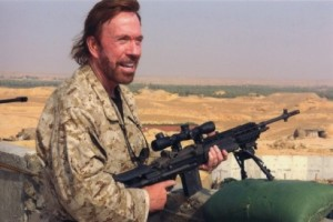 Chuck Norris Writes to Save the A-10 Warthog from Retirement