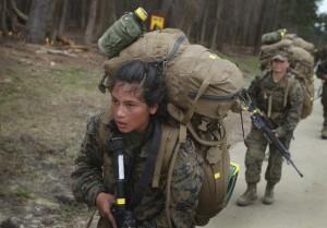 Navy boss, Marines at odds over women in combat